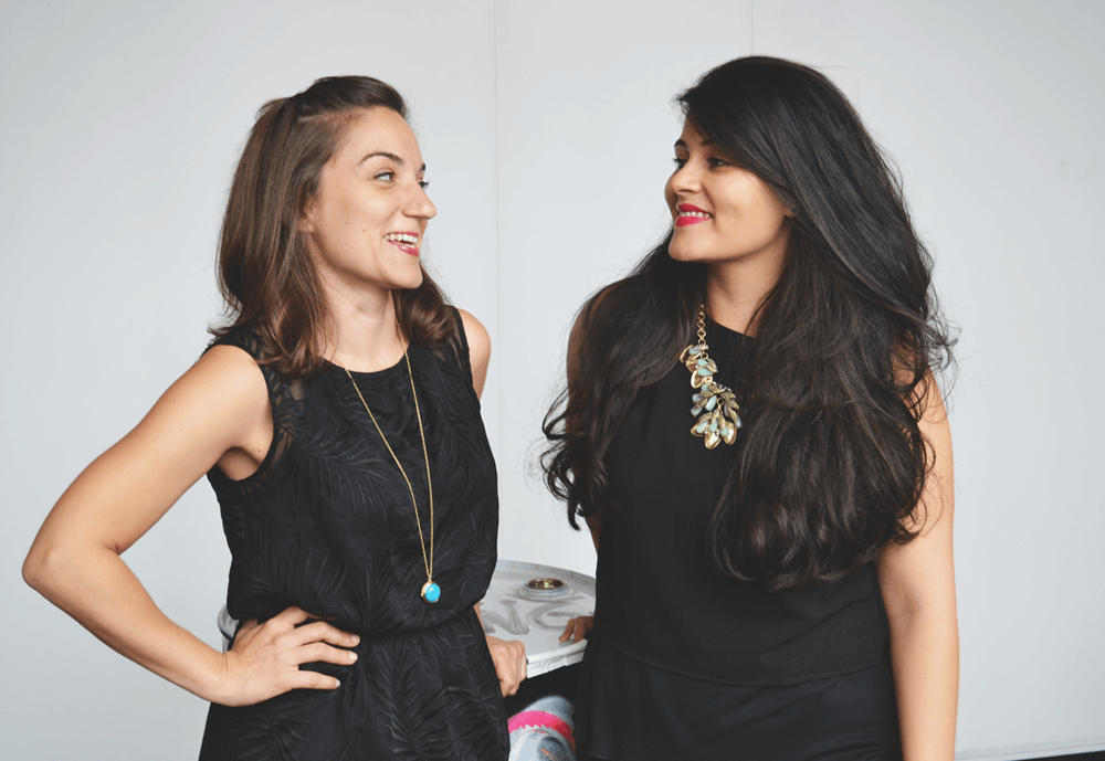 Dia & Co Founders Lydia Gilbert and Nadia Boujarwah